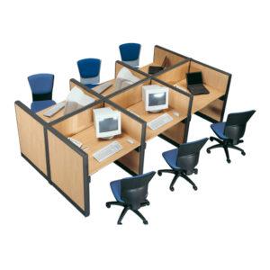 In&Office. Reforma de oficinas y tienda de muebles de oficina. Silla giratoria de oficina en color verde y negro.
