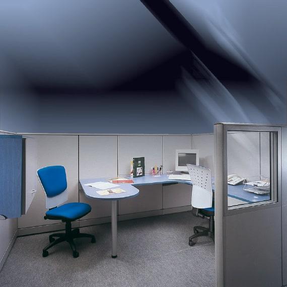 Mamparas divisorias de oficina perfect obras de mamparas for Muebles para oficina mamparas