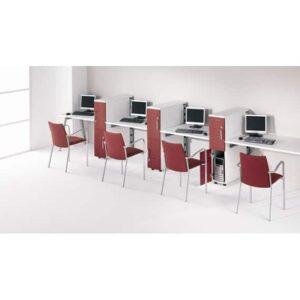 In&Office. Reforma de oficinas y tienda de muebles de oficina. Mobiliario para call center.