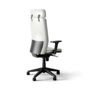 In&Office, reforma y muebles de oficina. Sillón giratorio de oficina para dirección en color blanco