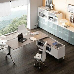 In&Office. Reforma de oficinas y tienda de muebles de oficina en Barcelona