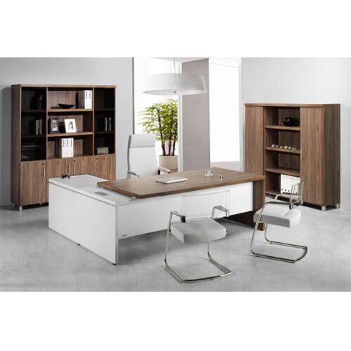 In&Office. Reforma de oficinas y tienda de muebles de oficina. Mesa de dirección para oficinas