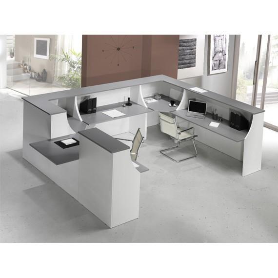 Mostrador De Oficina.H2 In Office Reforma De Oficinas En Barcelona Muebles De