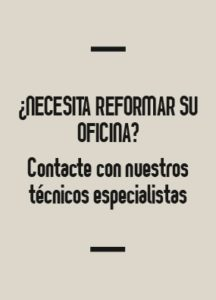 In&Office, empresa especialista en la reforma de oficinas yen la venta de muebles de oficina en Barcelona
