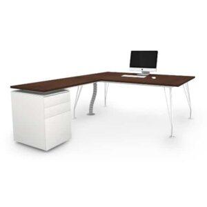 Mobiliario oficina Barcelona, mesa oficina operativa. Reforma oficinas Barcelona. In&Office.